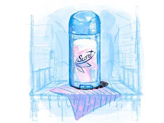 Most Trusted Women's Deodorant/Antiperspirant: Secret