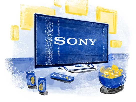 Most Trusted Home Entertainment Electronics: SONY