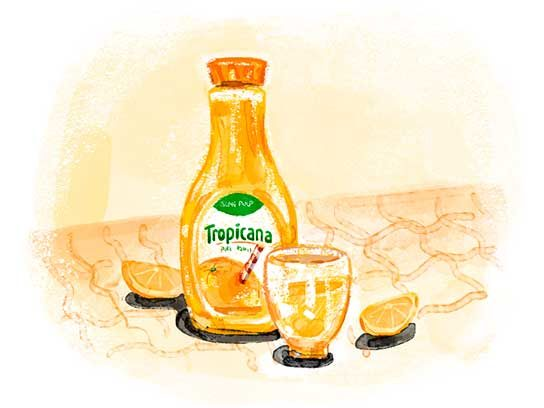 Most Trusted Juice: Tropicana