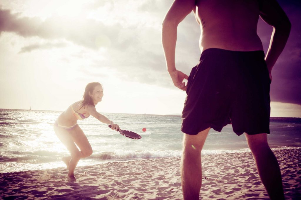 how to lose weight fast beach