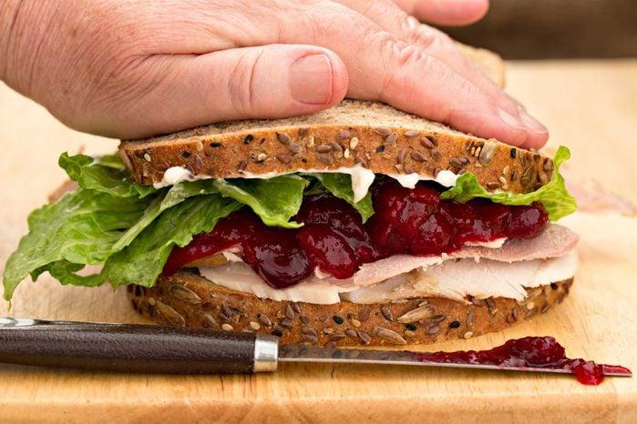 grocery store items sandwich