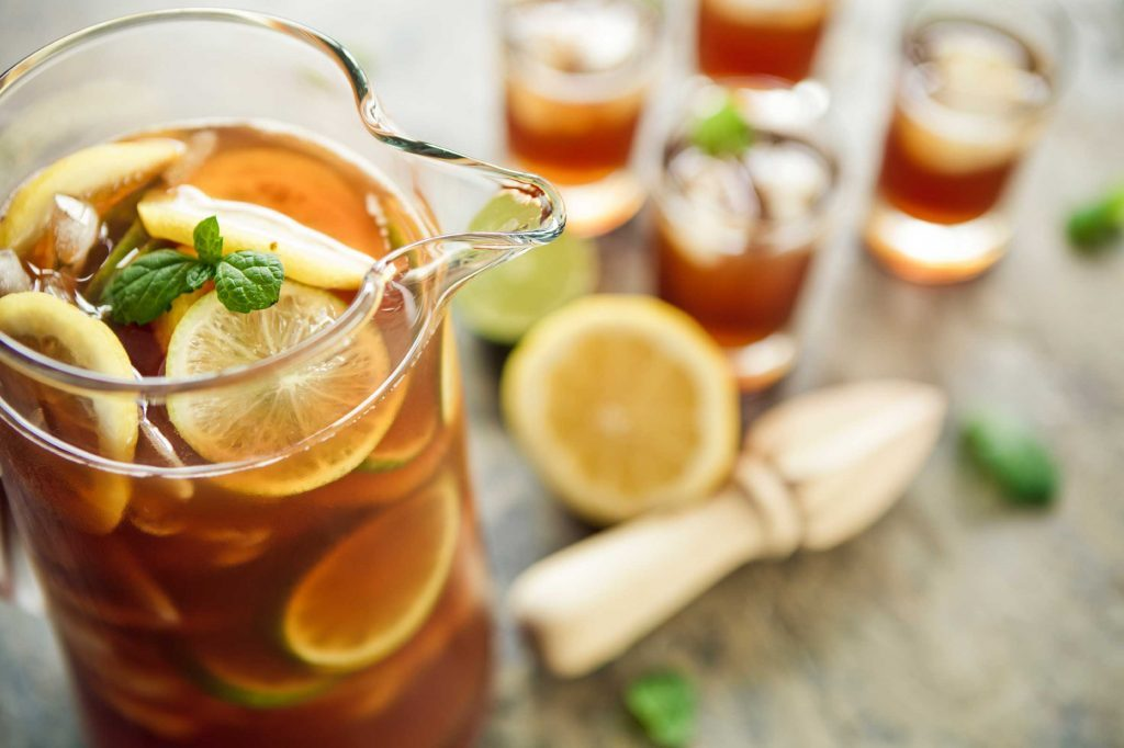 grocery store items iced tea