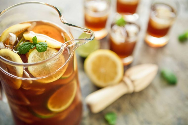iced tea_foods to never buy