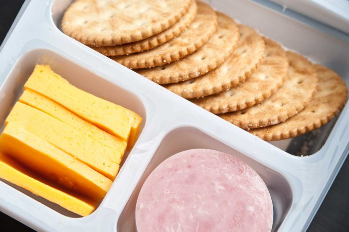 grocery store items snack packs