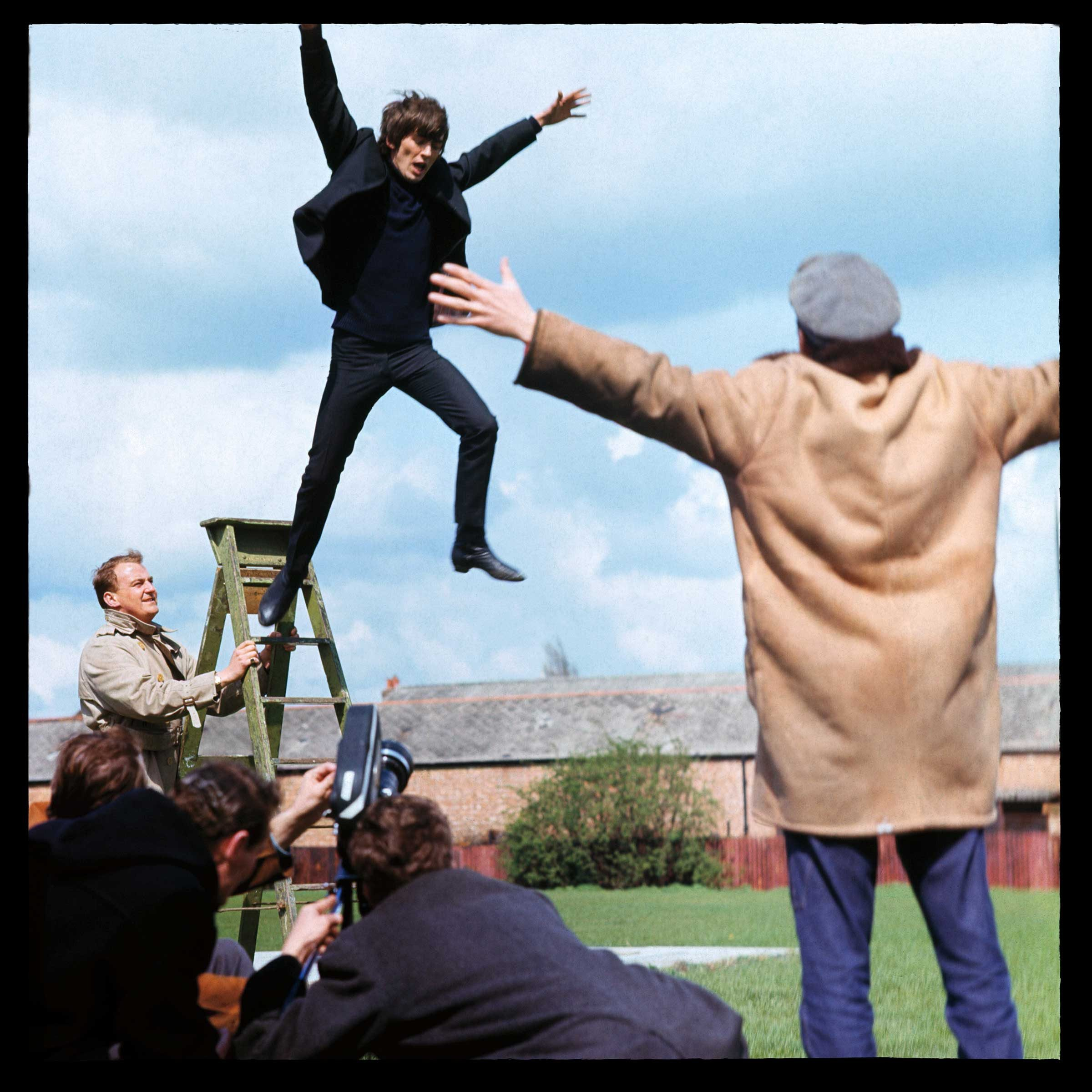 the beatles and help Help is the fifth studio album by english rock band the beatles it was first released on 6 august 1965 in the united kingdom by parlophone and on 13 august 1965 in the united states by capitol records produced by george martin, it serves as a soundtrack to the band's film of the same name.