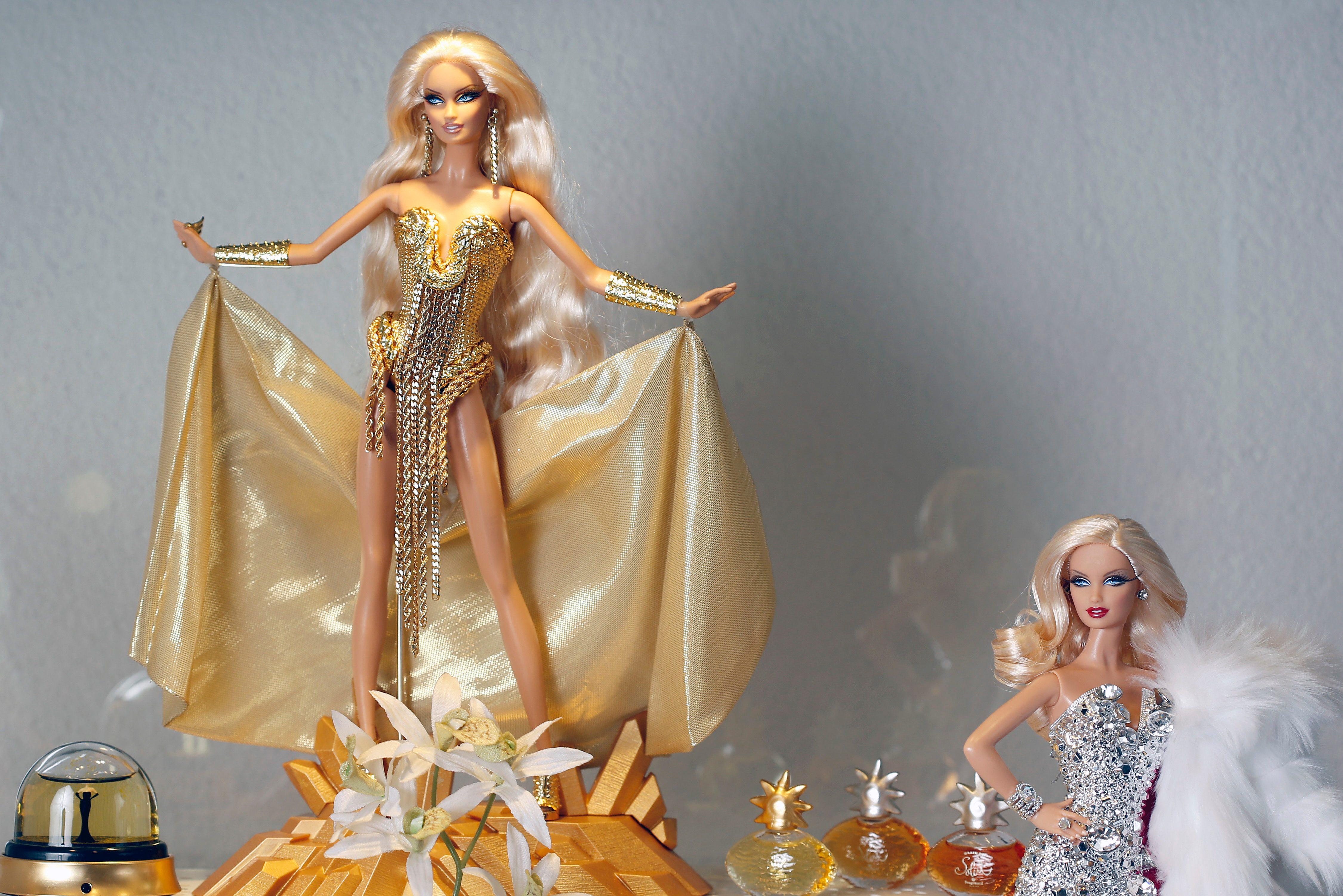 barbie designer clothes versace