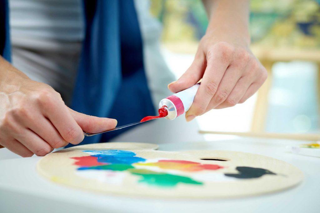 brain boosting painting