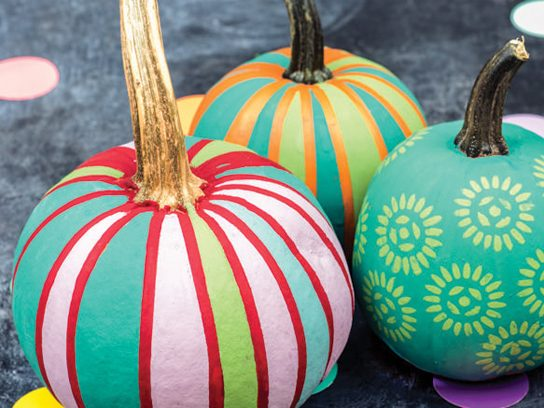 No Carve Pumpkin Decorating Ideas Reader S Digest
