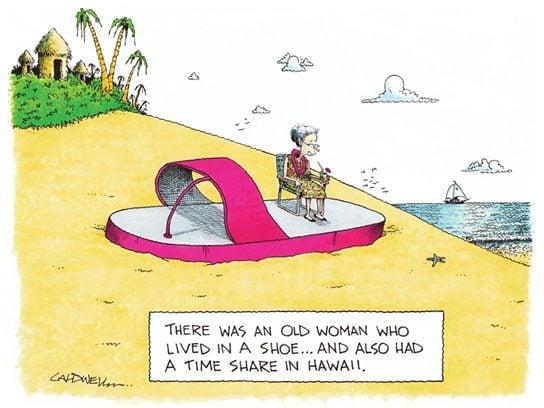 cartoons hawaii