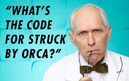 Funny: 18 Excruciatingly Detailed New Medical Codes Your Doctor Might Now Be Using