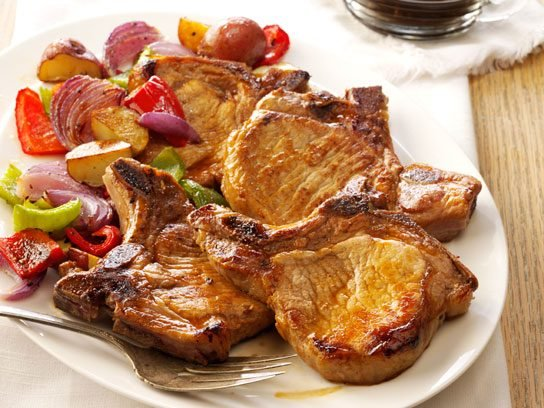 Easy diabetic recipes readers digest pork chops with honey garlic sauce forumfinder Images