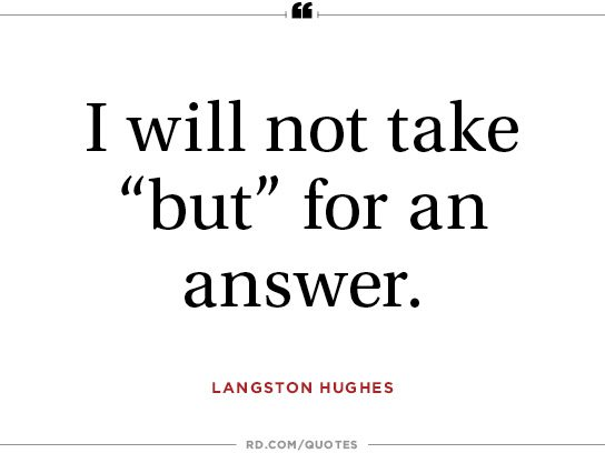 Langston Hughes On Persistence