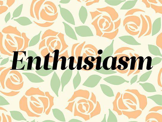 Orange: Desire, Enthusiasm and Passion