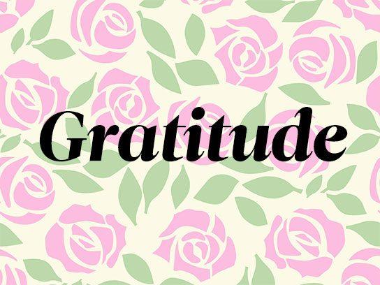 Pink: Love, Gratitude, Appreciation