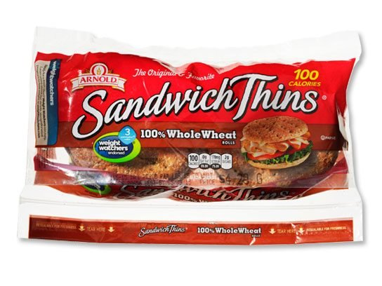 stop and drop breakfast foods sandwich thins