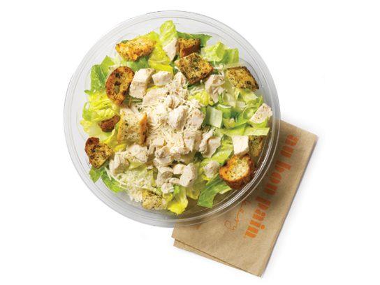 stop and drop chicken caesar salad