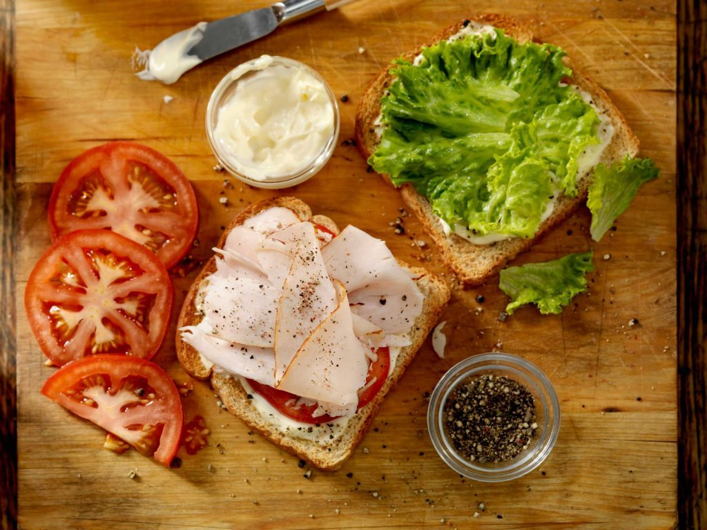 stop and drop healthy sandwich