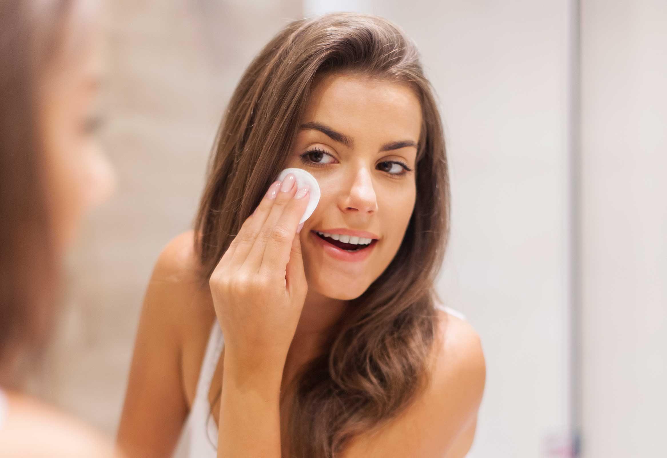 2. Don't redo makeup; refresh it