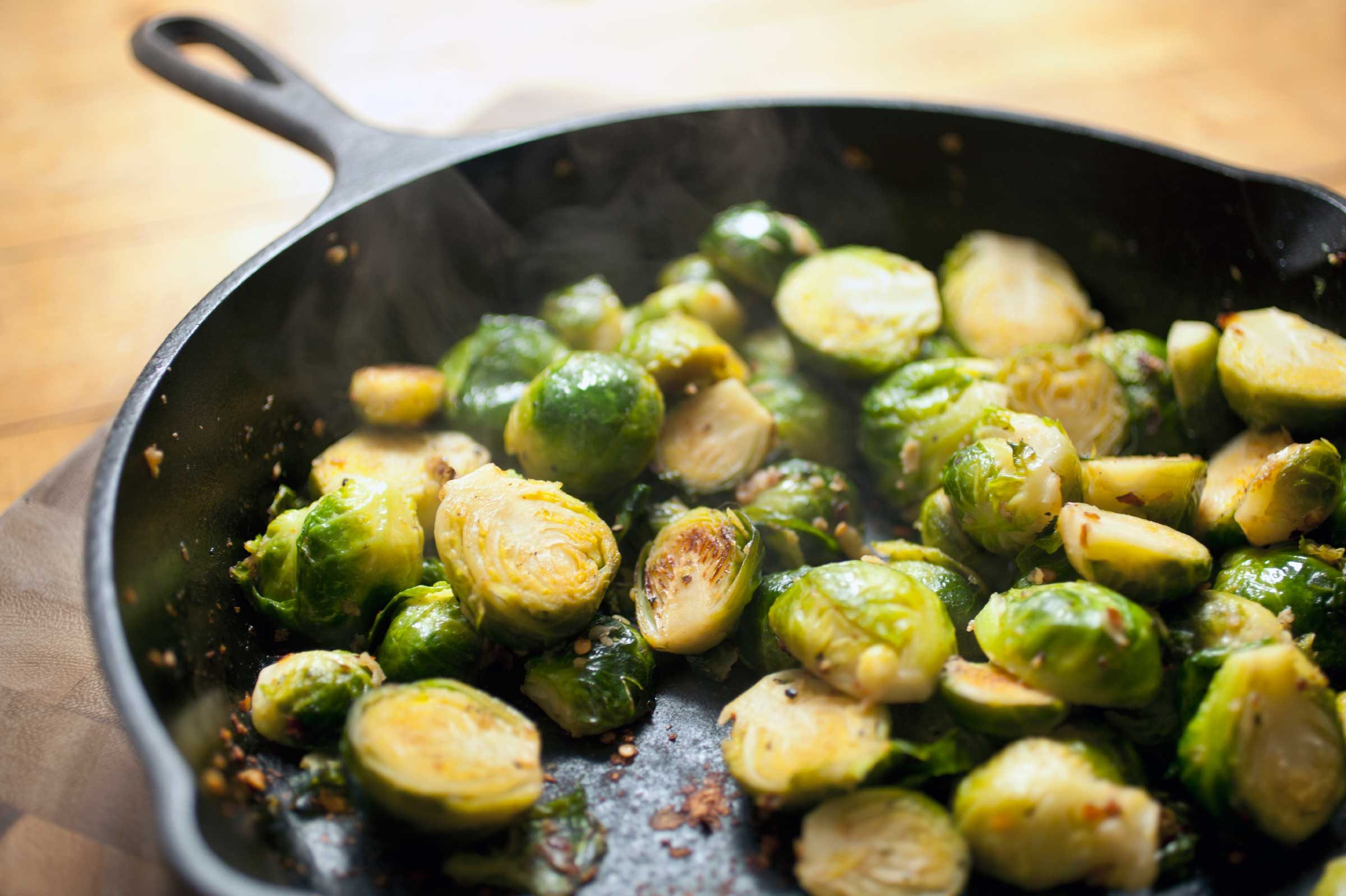 Brussels sprouts: 56 calories per 1 cup