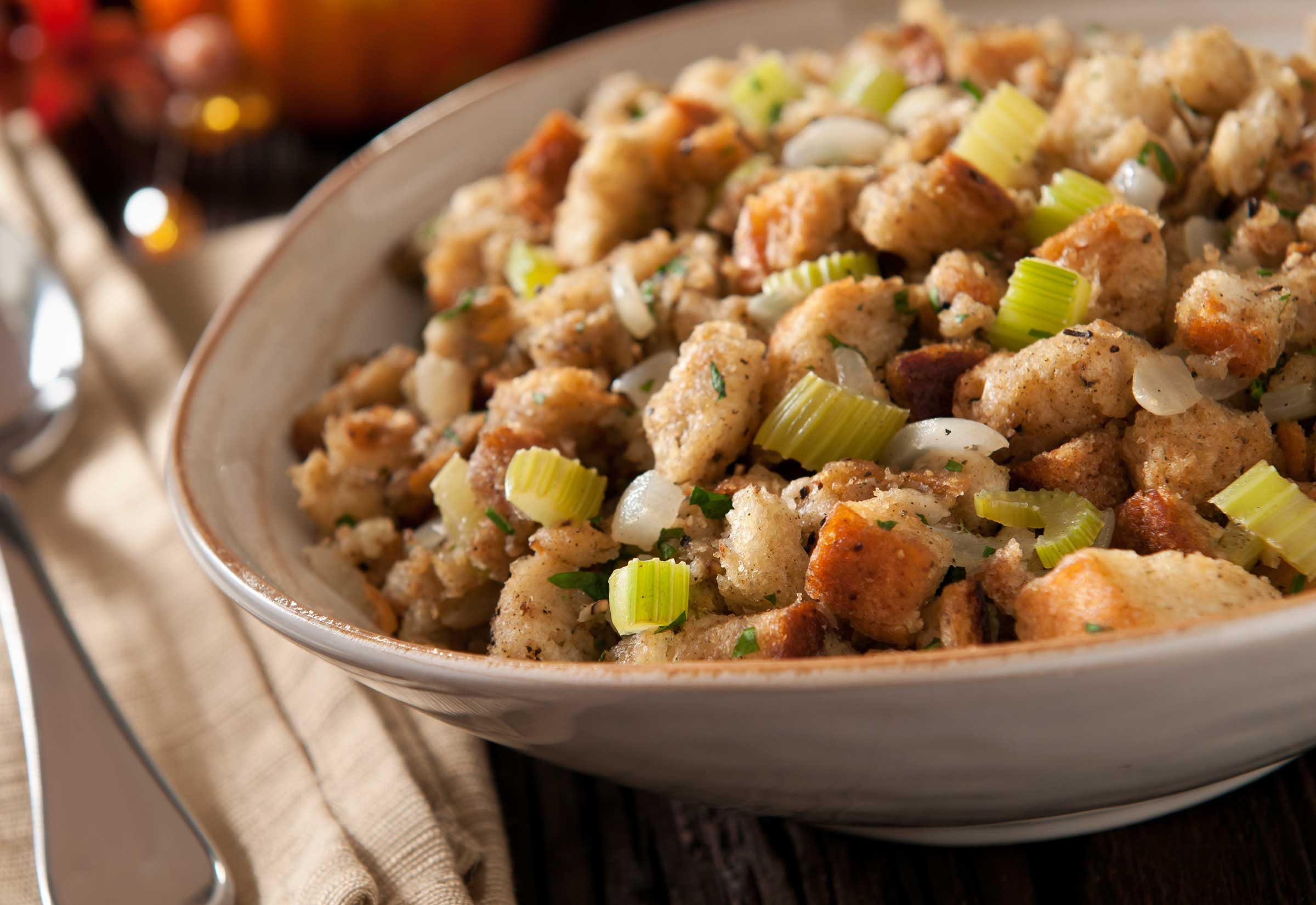 How do you fix dry stuffing?