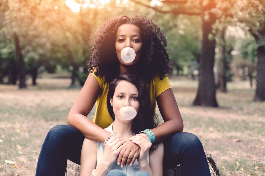 daily habits with health boosts chewing gum