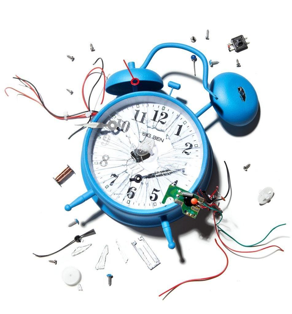 december january 2016 aol service ft clock smashed