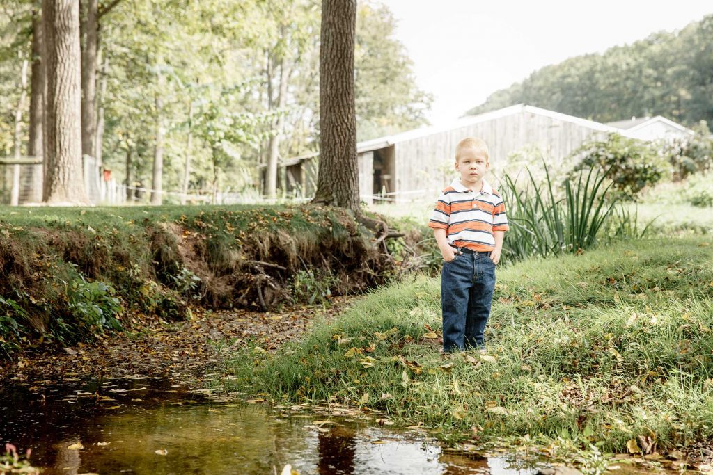 december january 2016 baby in the stream