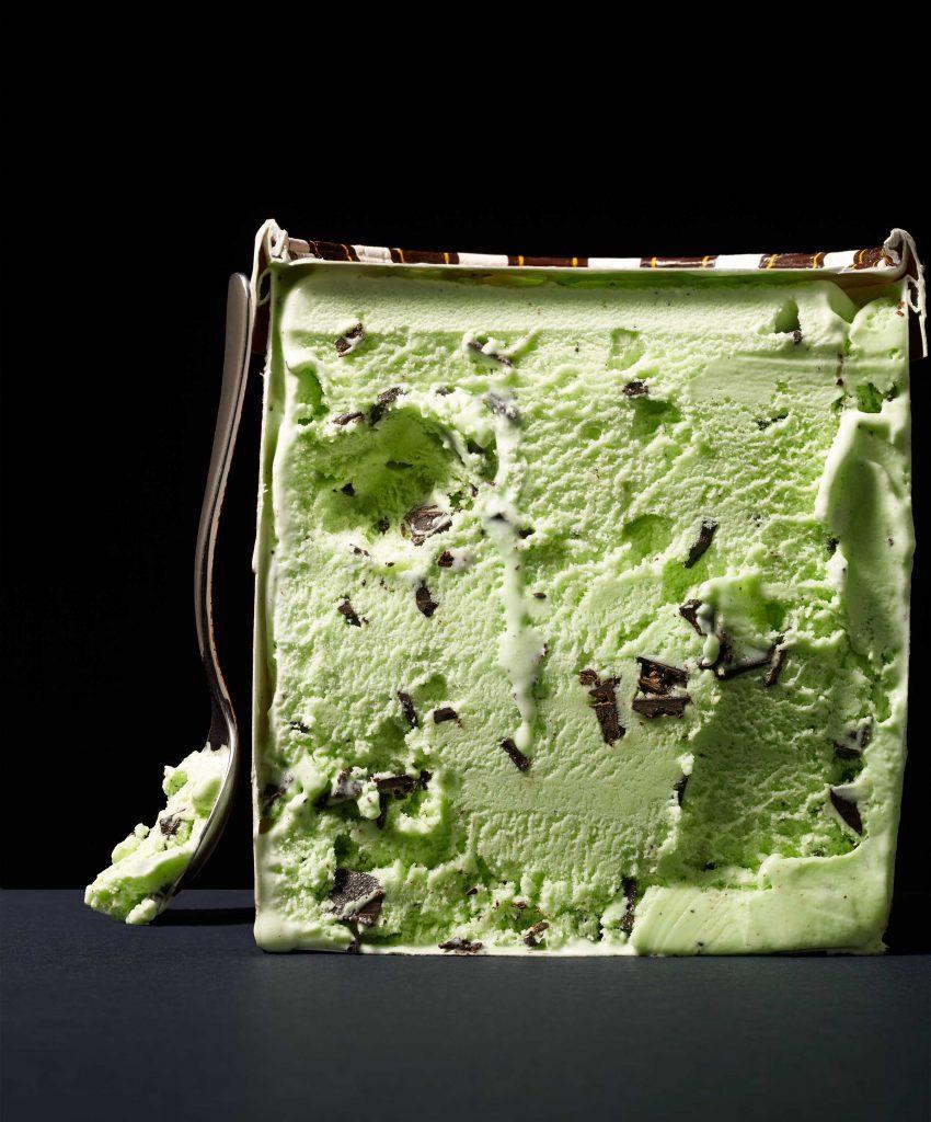 food manufacturers mint ice cream