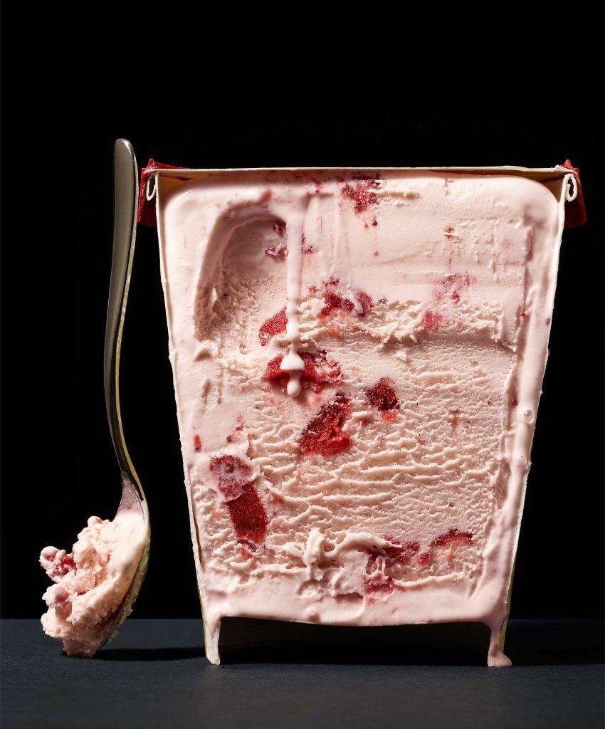 food manufacturers strawberry ice cream