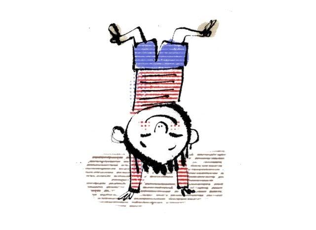 teacher stories child upside down