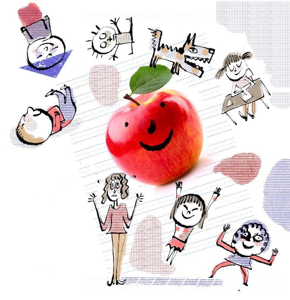 teacher stories collage