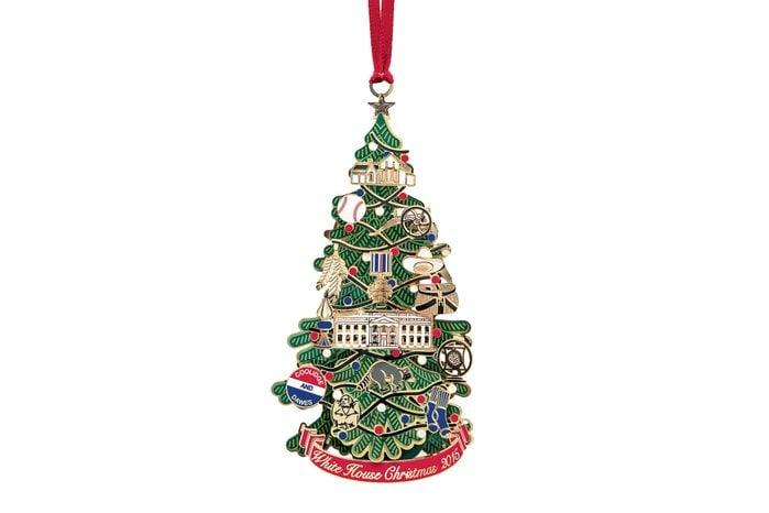 white house christmas decoration ornament
