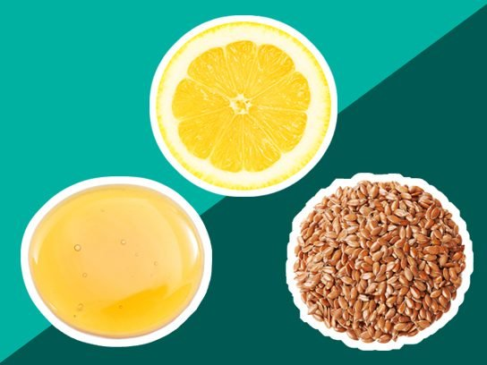 Cough remedy: Fight with flax, honey, and lemon
