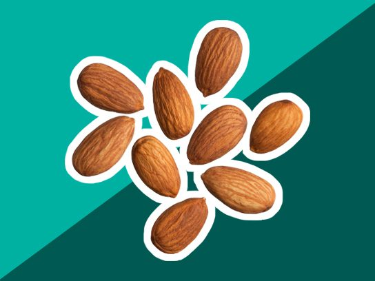 Cough remedy: Blend almonds