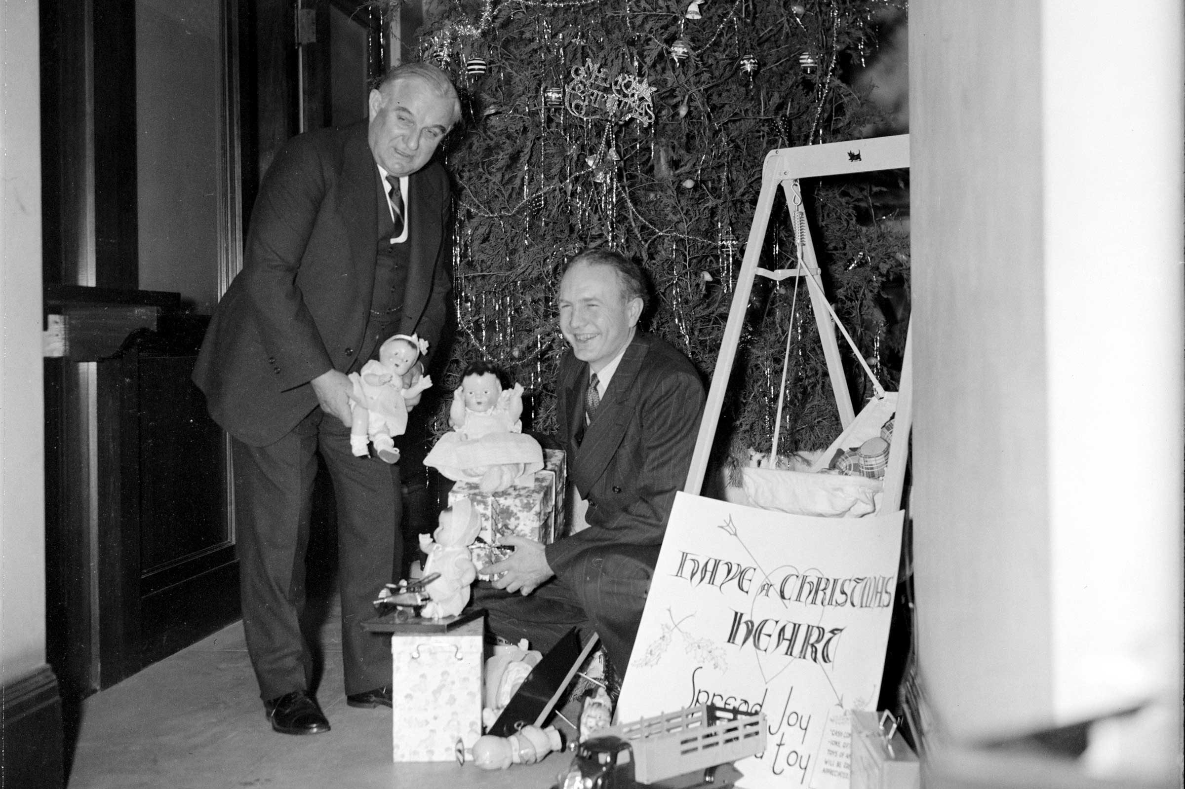 harrisewinglibrary of congress - Vintage Christmas Photos