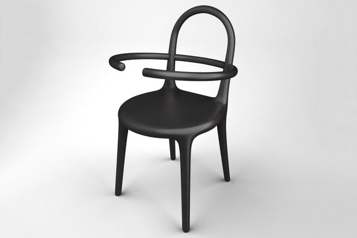 the uncomfortable hoop chair Courtesy Katerina Kamprani