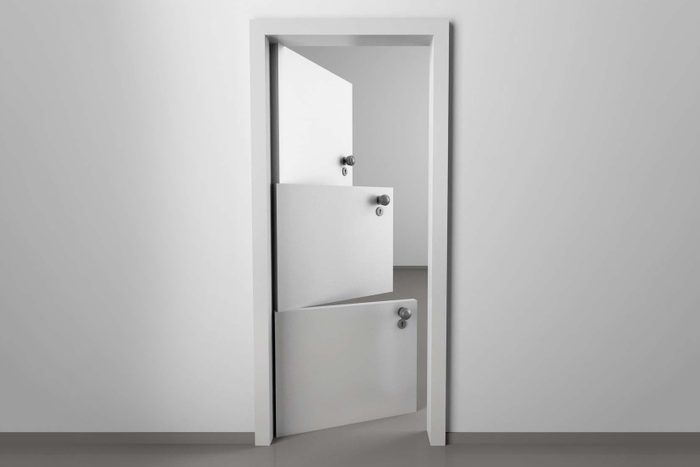 the uncomfortable door Courtesy Katerina Kamprani