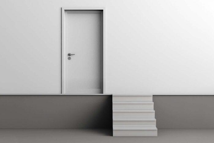 the uncomfortable entrance Courtesy Katerina Kamprani