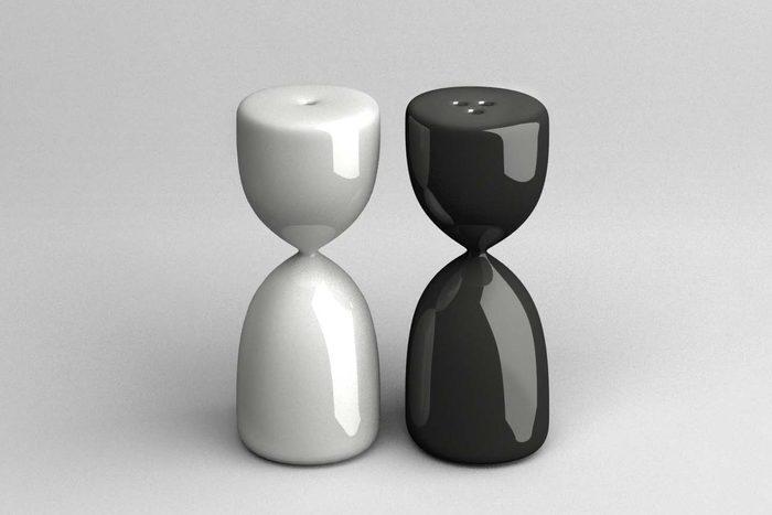 the uncomfortable salt and pepper shakers Courtesy Katerina Kamprani