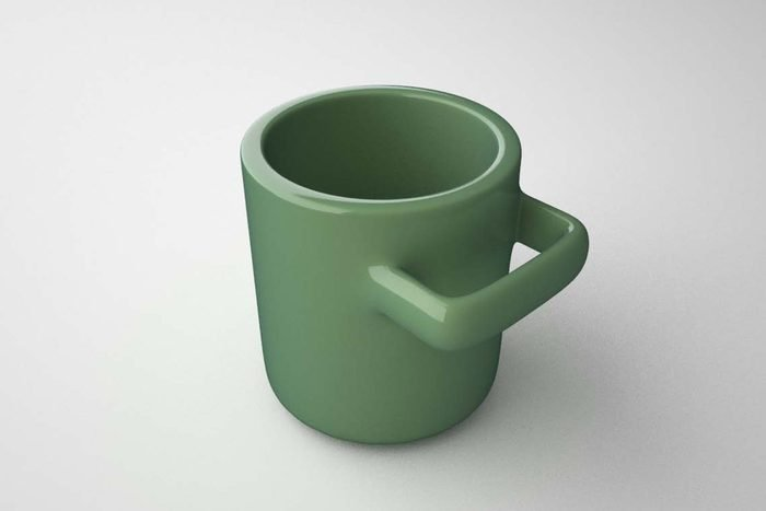 the uncomfortable mug Courtesy Katerina Kamprani