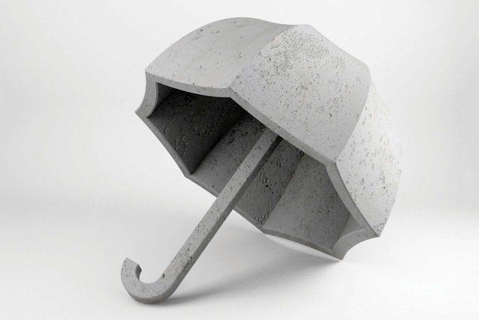 the uncomfortable umbrella Courtesy Katerina Kamprani