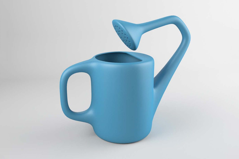 uncomfortable watering can Courtesy Katerina Kamprani