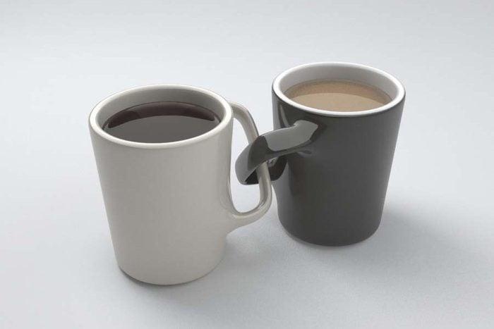 the uncomfortable mugs Courtesy Katerina Kamprani