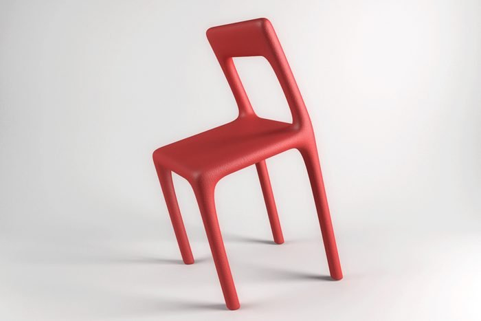the uncomfortable chair Courtesy Katerina Kamprani