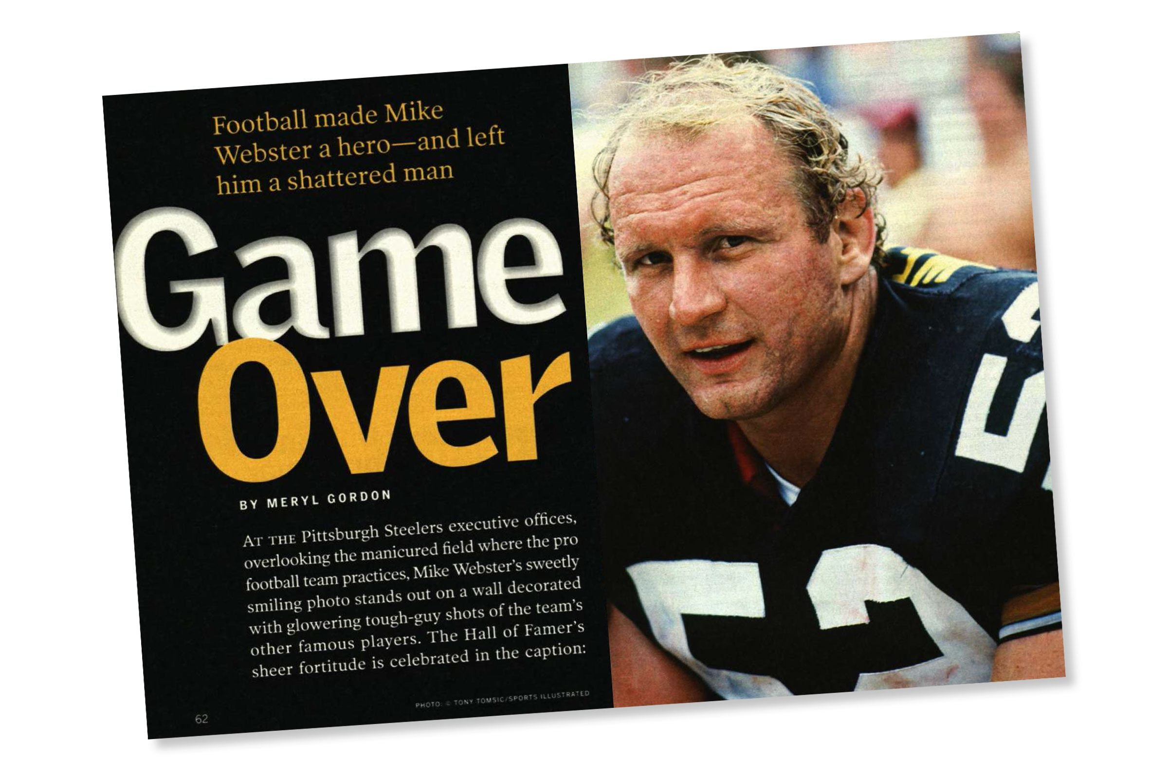 Before Concussion Mike Webster S Shattered Life Reader S Digest
