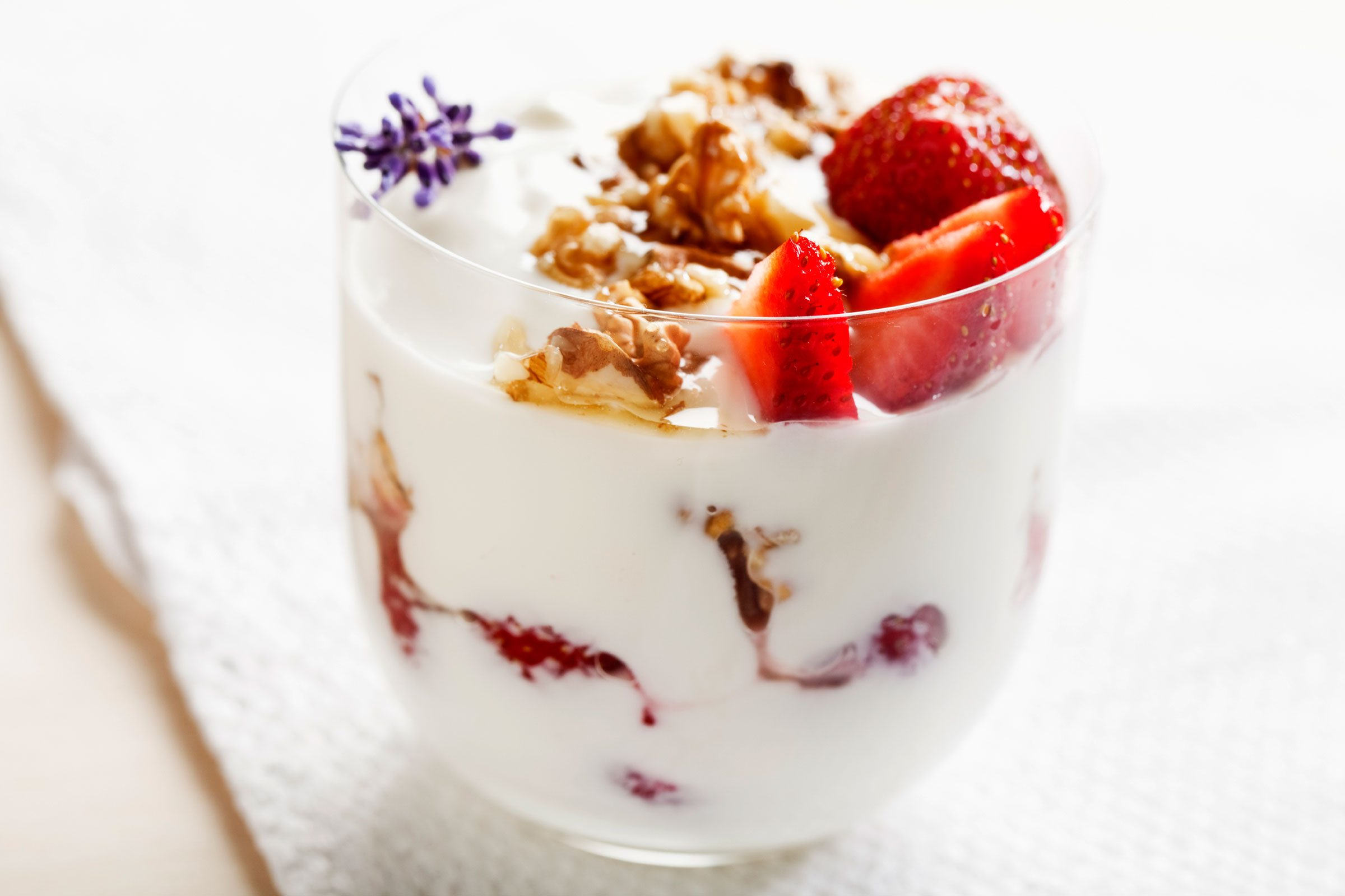 Your diet is light on probiotics