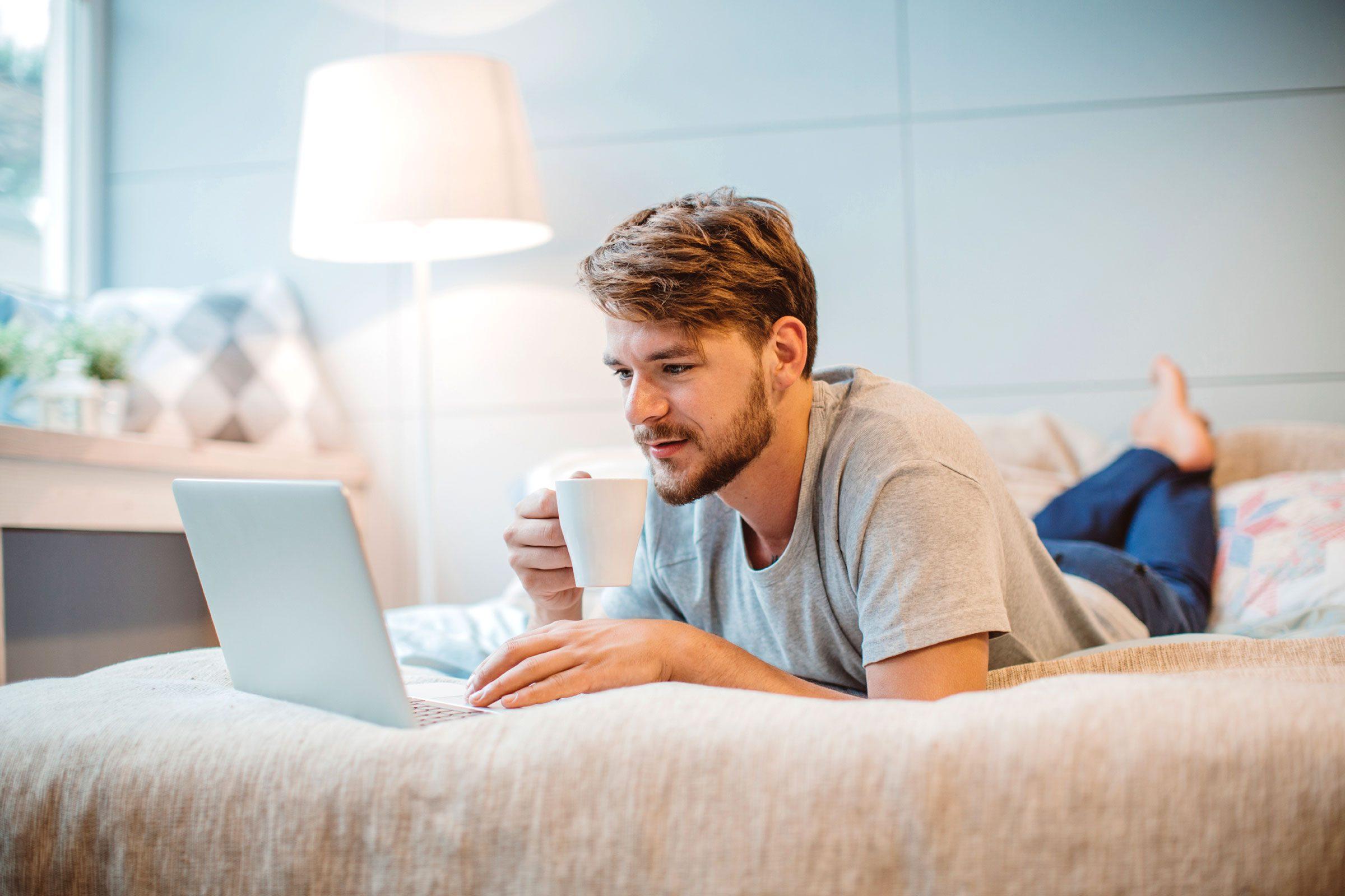 You spend your weekends binge-watching TV