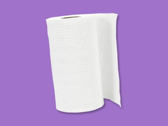 Try the paper towel trick