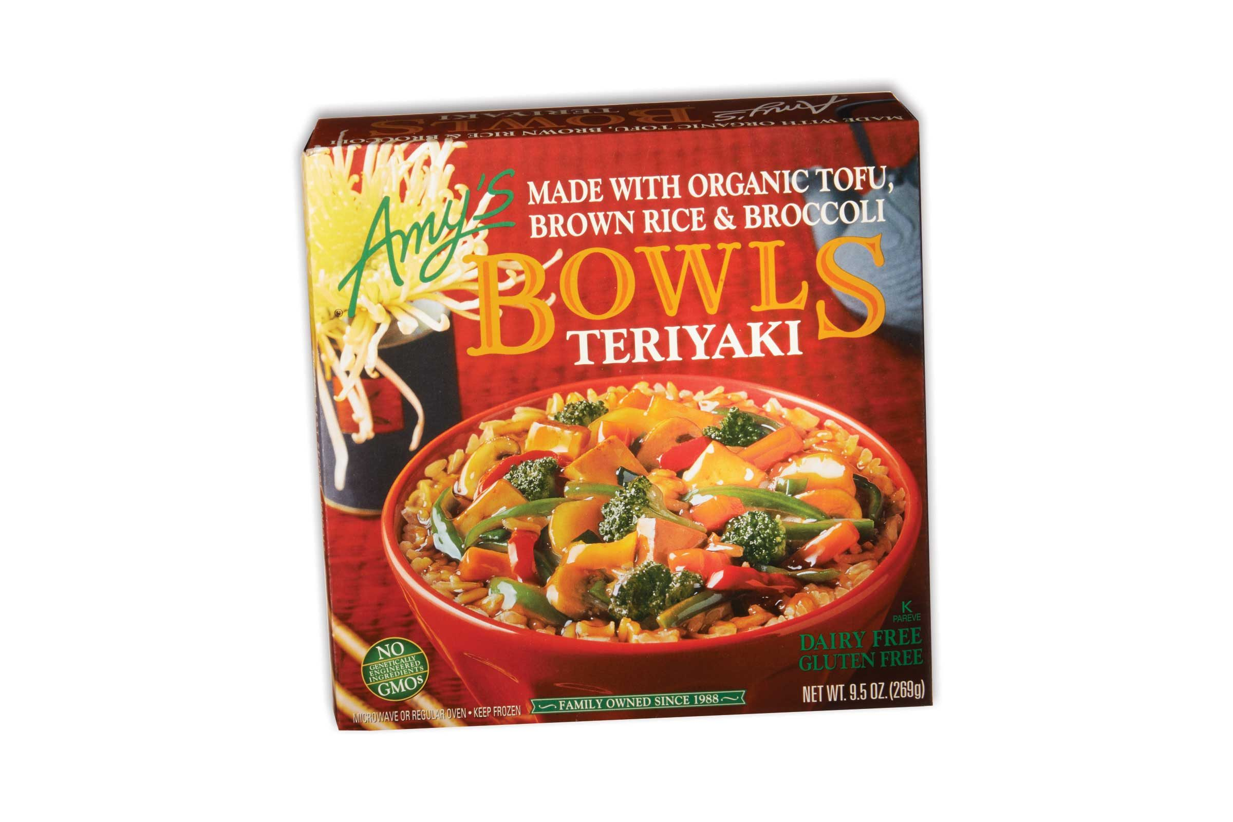 Amy S Teriyaki Bowl 290 Calories