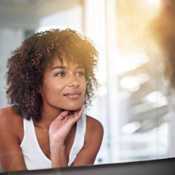 signs disease face dry skin